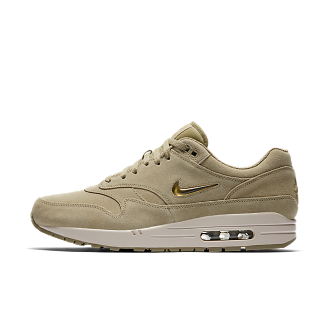 2870880d75ee40 Nike Air Max 1 Premium SC Neutral Olive/Metallic Gold-Desert Sand ...
