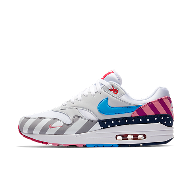 Nike Air Max 1 Trainers In White Multi color AT3057 100 in