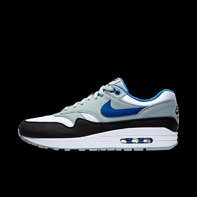 Nike Air Max 1 White/Gym Blue-Light Pumice-Black