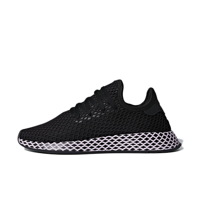 adidas Deerupt 'Black/Clear Liliac'