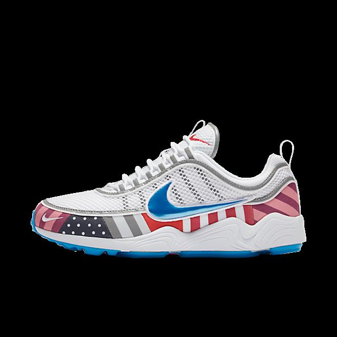 Nike Air Zoom Spiridon x Parra 'White/Multi color'