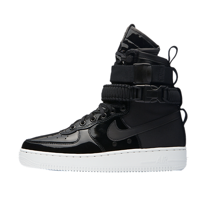 Nike Special Field Air Force 1 Black Patent