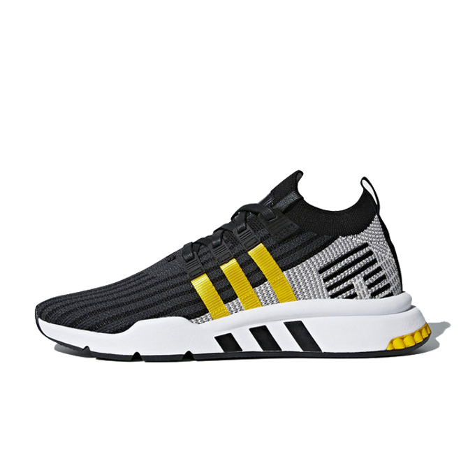 adidas EQT Cushion ADV 'Black/EQT Yellow' zijaanzicht