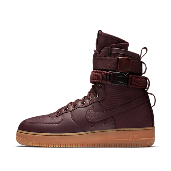 "Nike Air Force 1 SF ""Burgundy"""