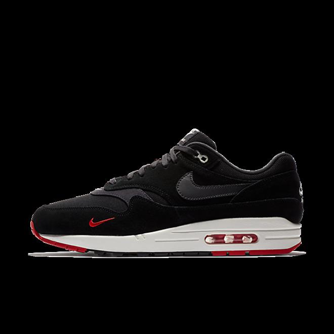 Nike Air Max 1 Premium 'Bred' zijaanzicht