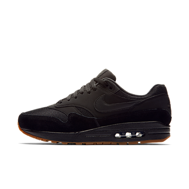 nike air max 1 heren black