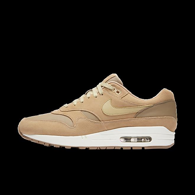 "Nike Air Max 1 Premium ""Tan"" zijaanzicht"