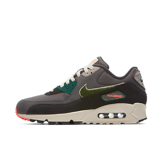 Nike Air Max 90 Premium SE Chenille 'Grey/Green''