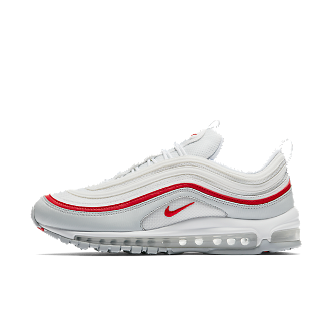 Nike Air Max 97 OG 'Pure PlatinumUniversity Red' | AR5531 002