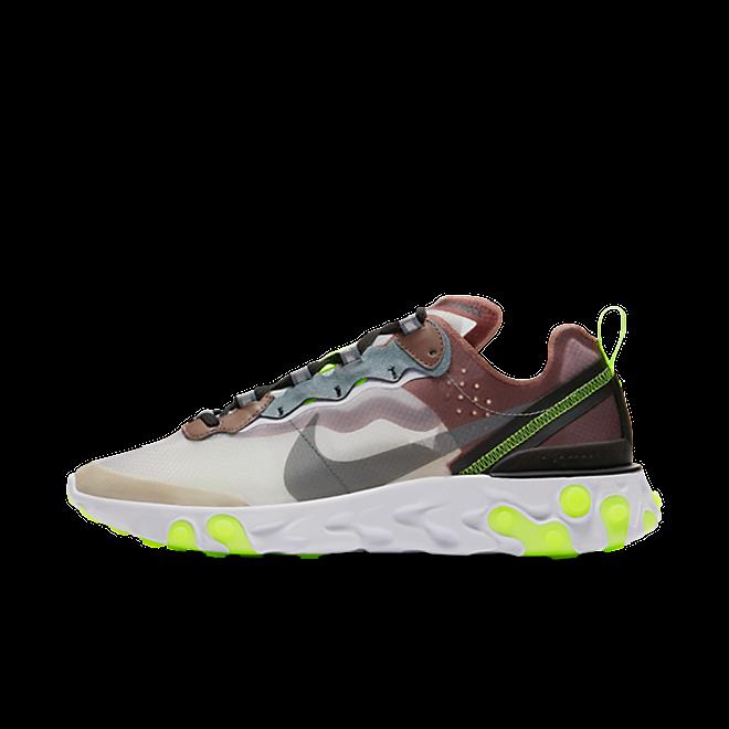 Nike React Element 87 'Desert Sand' zijaanzicht