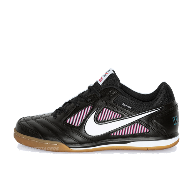 Supreme x Nike SB Gato 'Black' zijaanzicht