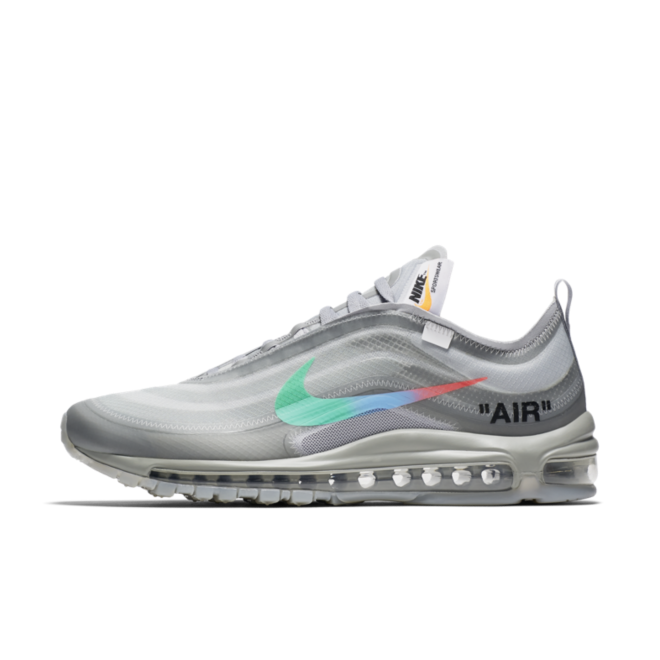 pretty nice 12dca 5425e Off-White x Nike Air Max 97 'Grey Menta' | AJ4585-101