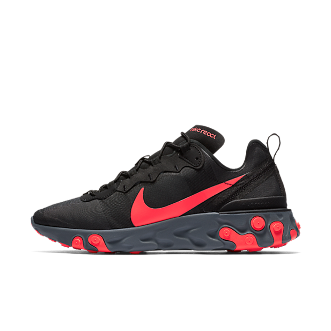 Nike React Element 55 'Black/Solar Red'