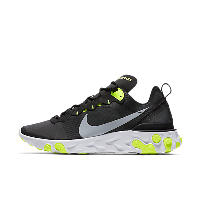 Nike React Element 55 'Black/Volt'