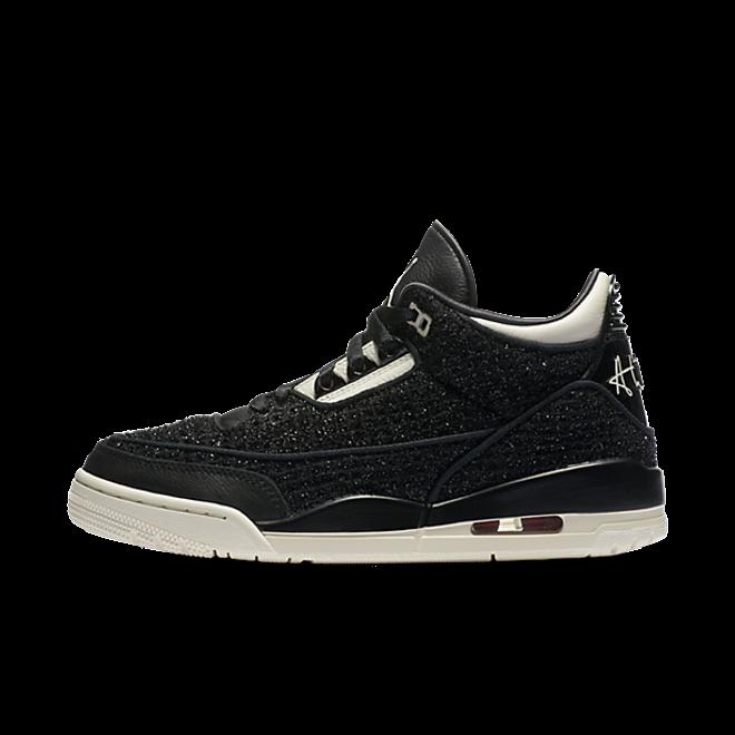 Air Jordan 3 Retro SE AWOK 'Black' zijaanzicht