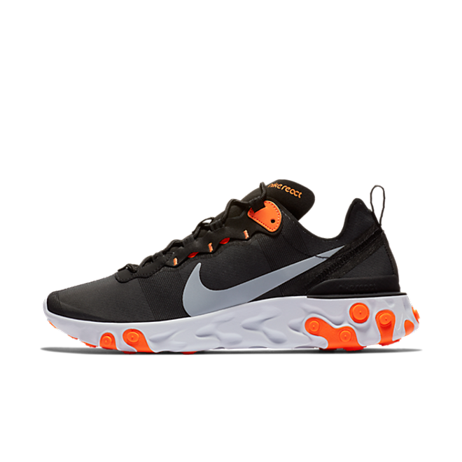 Nike React Element 55 'Black/Orange' BQ6166-006