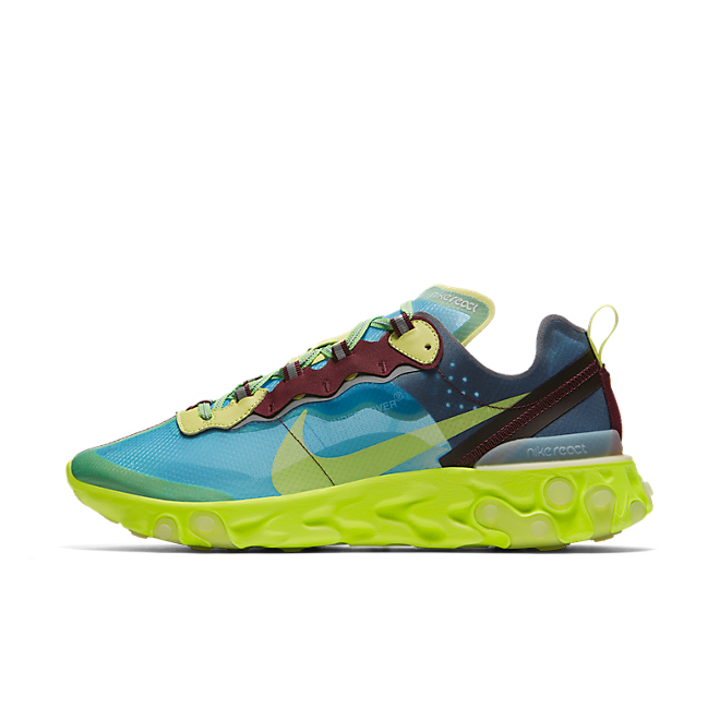 Nike React Element 87 X UNDERCOVER 'Electric Yellow'