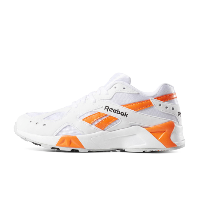 Reebok Aztrek 'White/Orange' zijaanzicht