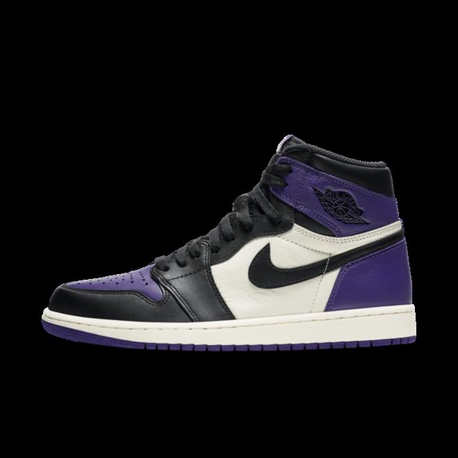 Air Jordan 1 Retro 'Court Purple' zijaanzicht