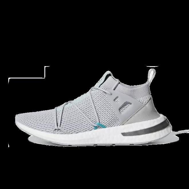 adidas Akryn Primeknit 'Grey Two' zijaanzicht