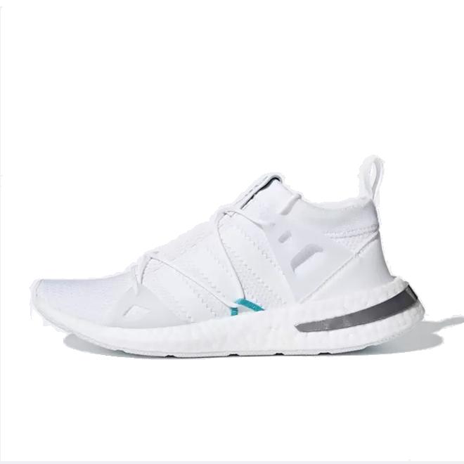 adidas Akryn Primeknit 'Footwear White' zijaanzicht