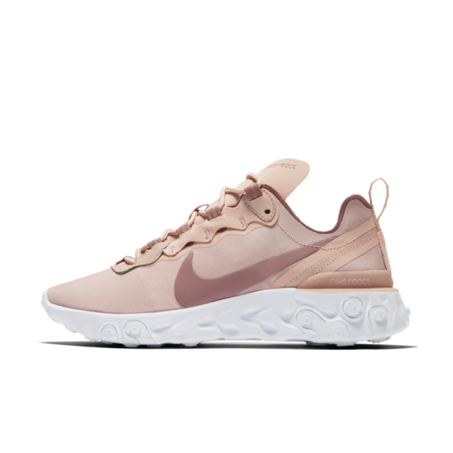 Nike WMNS React Element 55 ''Particle Rose' zijaanzicht