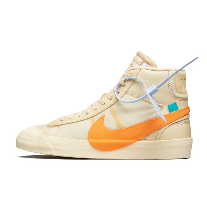 Off White X Nike Blazer Mid 'All Hallows Eve'