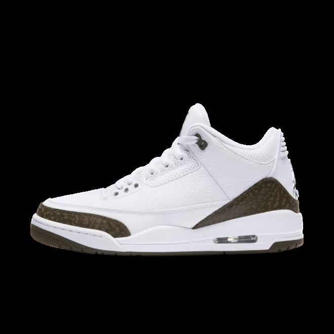 Air Jordan 3 Retro 'Mocha' zijaanzicht