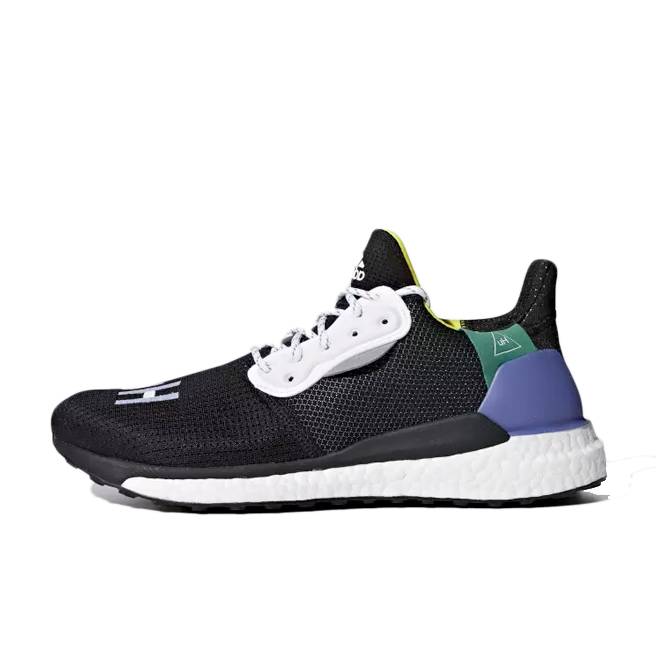 adidas Pharrell Williams Solar Hu Glide 'Core Black'