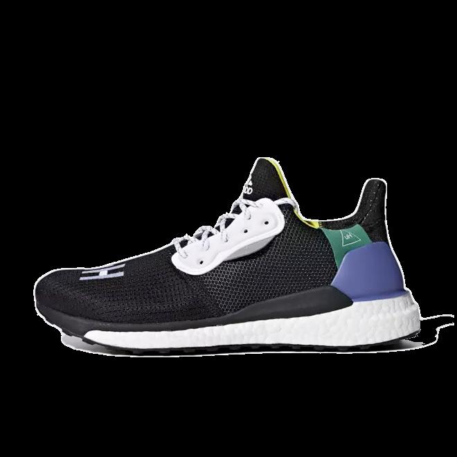 adidas Womens Pharrell Williams Solar Hu Glide 'Core Black'