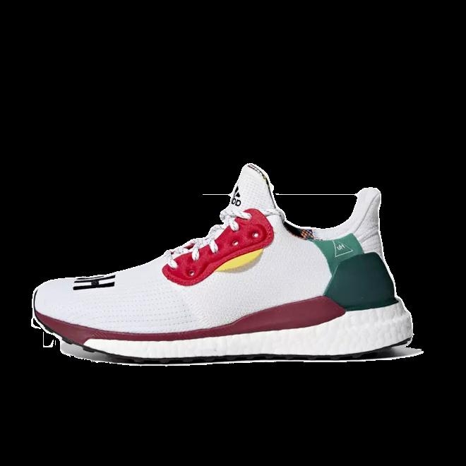 adidas Womens Pharrell Williams Solar Hu Glide 'Footwear White'