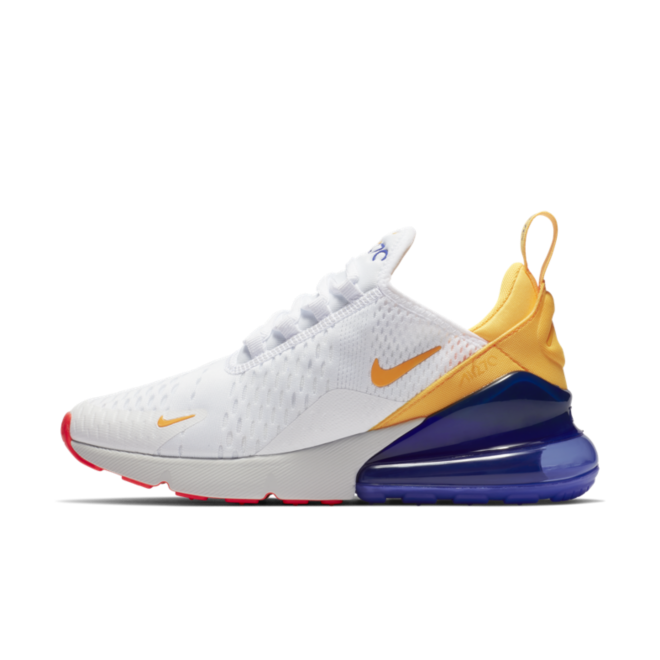 new arrivals 9d9fe 4d549 Nike WMNS Air Max 270  White Orange
