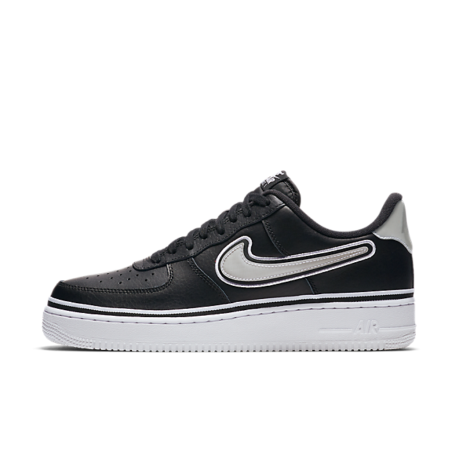 Nike Air Force 1 NBA Sport Pack 'Black & White'