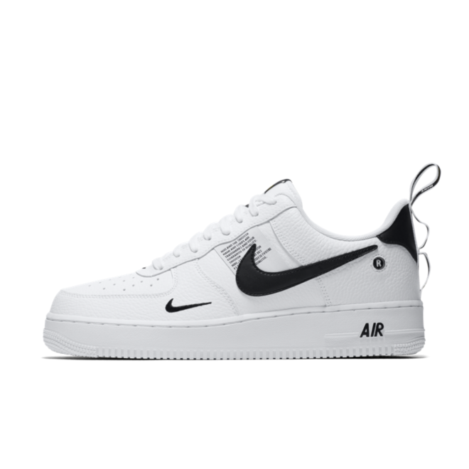 nike air force 1 07 zwart
