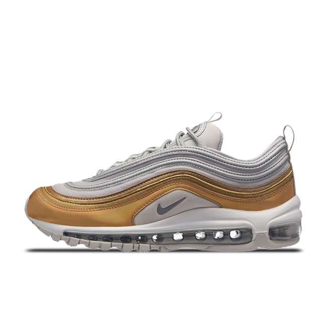 Nike Air Max 97 SE 'Metallic Silver & Gold' AQ4137-001