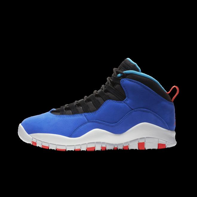 Air Jordan 10 Retro 'Tinker' zijaanzicht