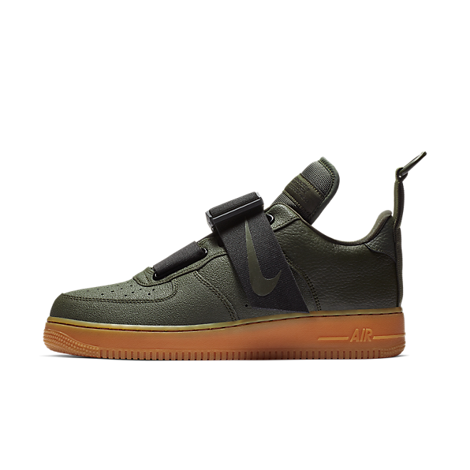 Nike Air Force 1 Utility 'Sequoia' zijaanzicht