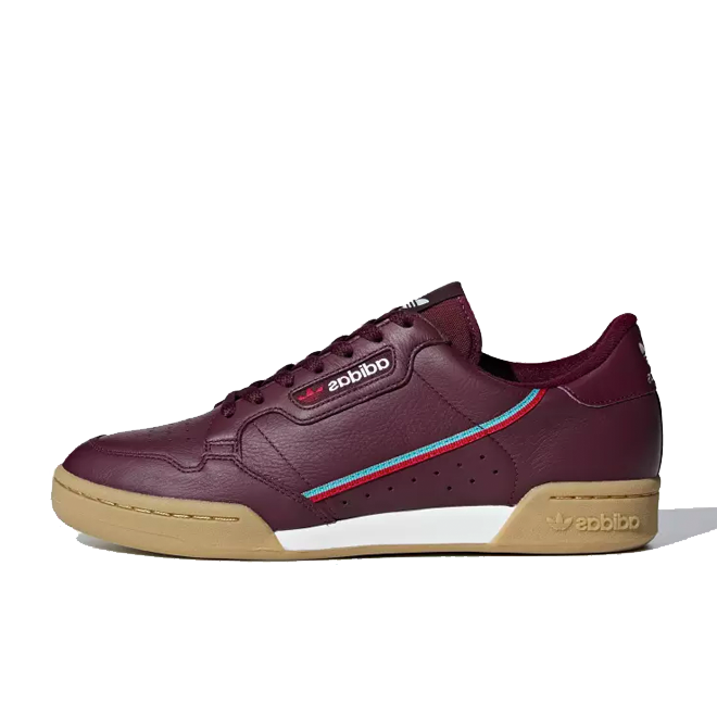 adidas Continental 80 'Collegiate Burgundy'