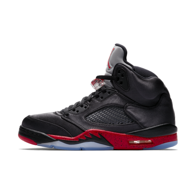 Air Jordan 5 Satin 'Black & Red'