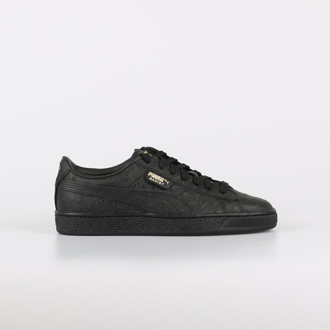 new product bfdc7 454f5 Puma Basket Ostrich Sneakers Dames | 366727-01 | Sneakerjagers