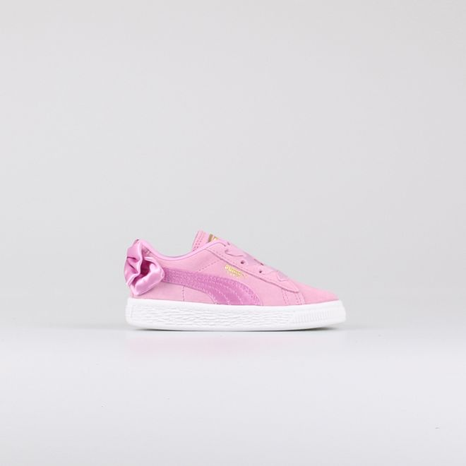 Puma Suede Bow AC Pink Kids 367320-05