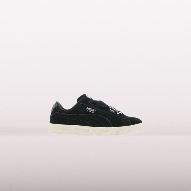 Puma Suede Heart Athluxe Black Kids