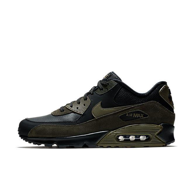 Nike Air Max 90 Leather Dark Green | 302519 014