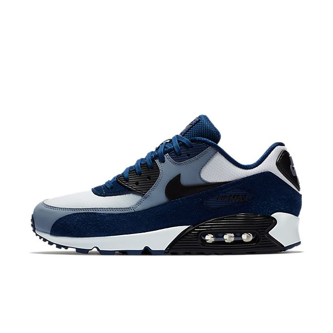 nike air max 90 leather zwart