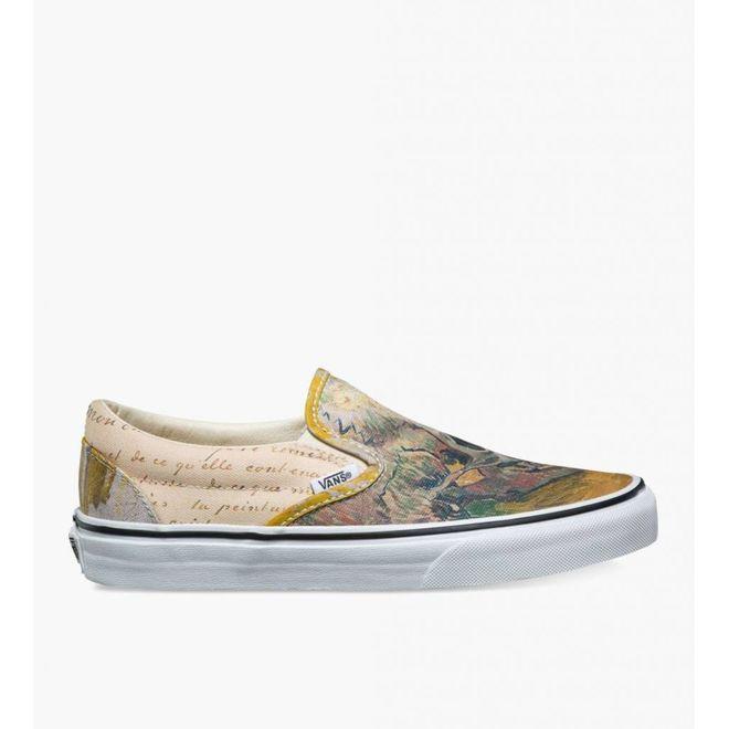 Vans X Vincent Van Gogh Slip On Skull True White Va211a07a B11 Sneakerjagers