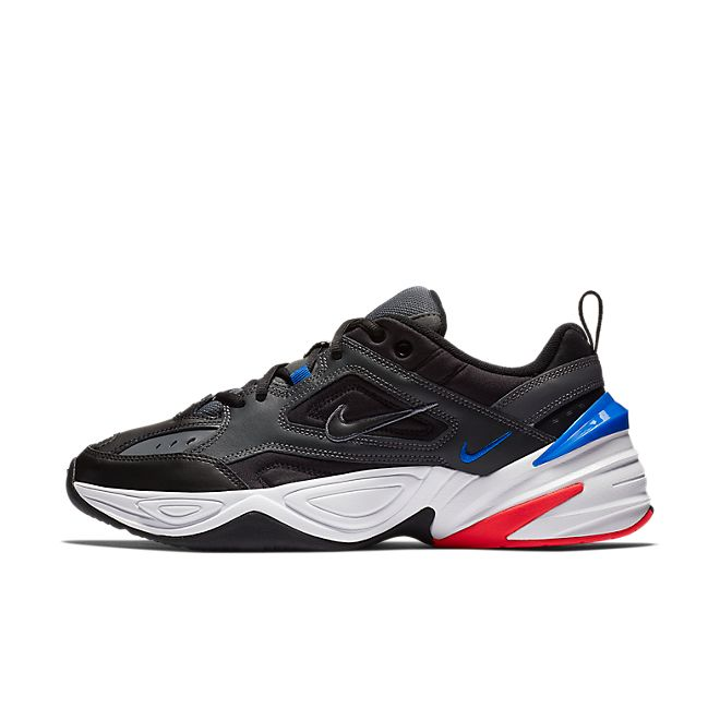 Nike M2K Tekno Dark Grey Black Baroque Brown Racer Blue