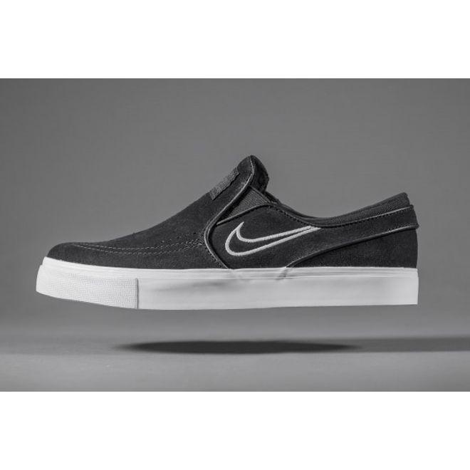 Nike SB Air Zoom Stefan Janoski Slip Black
