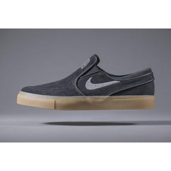 Nike SB Air Zoom Stefan Janoski Slip Black Gunsmoke Gum