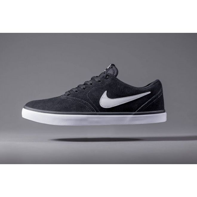 NIKE SB Check Solarsoft Black White
