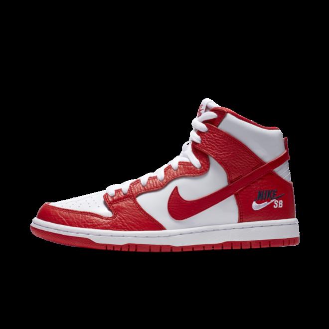 Nike SB Zoom Dunk High Pro University Red
